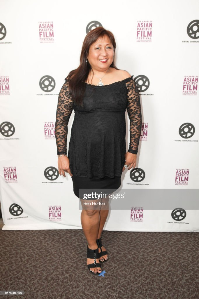 Actress Tessie Magaoay attends the 2013 LA Asian Pacific Film Festival - opening night premiere of 'Linsanity' at the Directors Guild Of America on May 2, 2013 in Los Angeles, California.