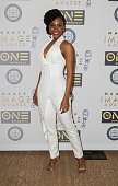 Actress Teyonah Parris attends the 47th NAACP Image Awards Nominees' luncheon at The Beverly Hilton Hotel on January 23 2016 in Beverly Hills...