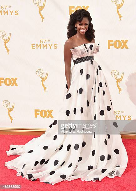 Actress Teyonah Parris attends the 67th Emmy Awards at Microsoft Theater on September 20 2015 in Los Angeles California 25720_001