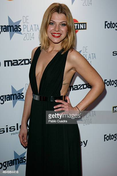 Actress Thais Blume attends 'Fotogramas Awards 2014' at Joy Eslava theater on March 2 2015 in Madrid Spain