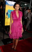 Actress Thandie Newton arrives at the premiere of Picturehouse's 'Run Fat Boy Run' held at the Arclight Theatres on March 24 2008 in Los Angeles...