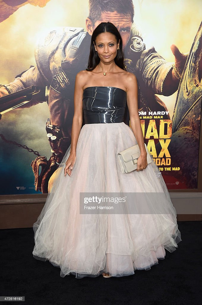Actress Thandie Newton arrives at the Premiere Of Warner Bros Pictures' 'Mad Max Fury Road' at TCL Chinese Theatre on May 7 2015 in Hollywood...