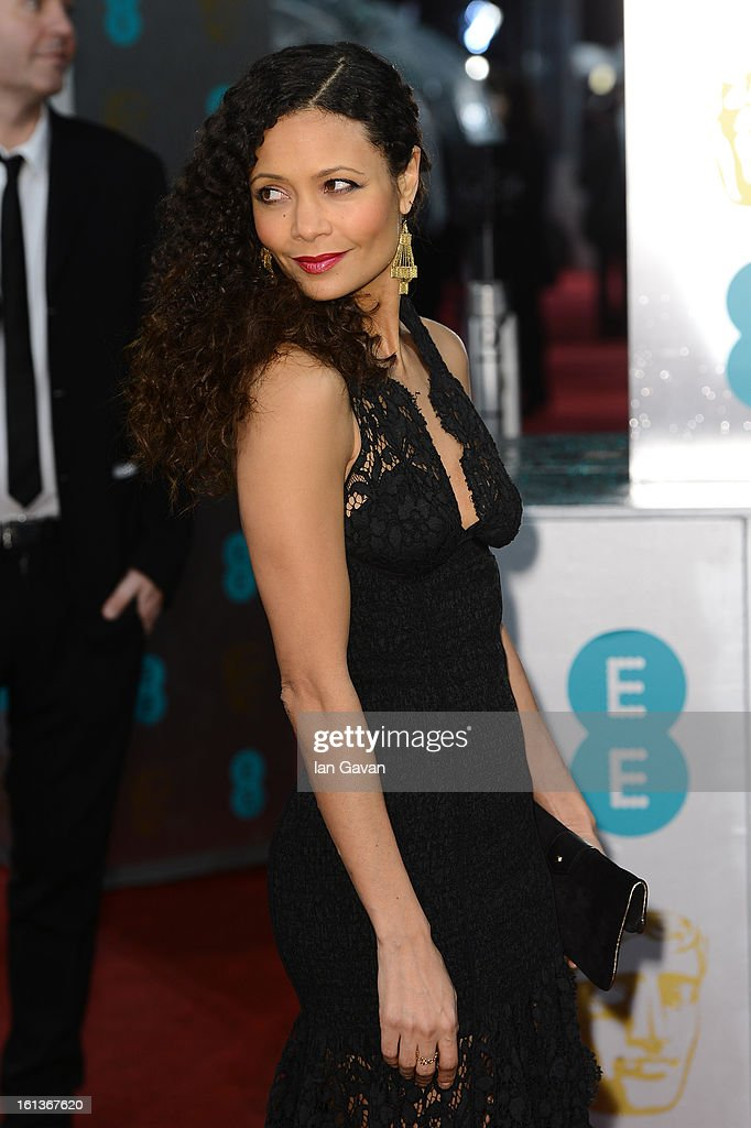 Actress Thandie Newton attend the EE British Academy Film Awards at The Royal Opera House on February 10, 2013 in London, England.