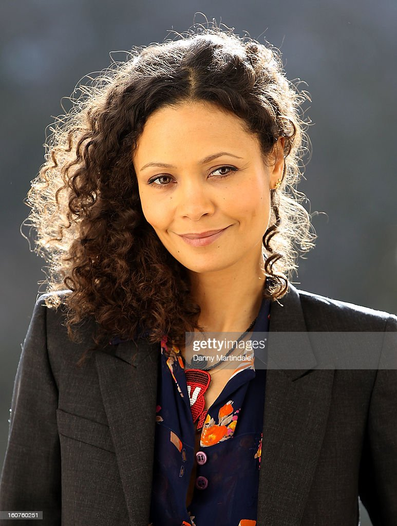 Actress Thandie Newton attends a photocall to promote One Billion Rising, a global movement aiming to end violence towards women at ICA on February 5, 2013 in London, England.