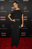 Actress Thandie Newton attends MercedesBenz USA and African American Film Critics Association Academy Awards viewing party on February 22 2015 in Los...