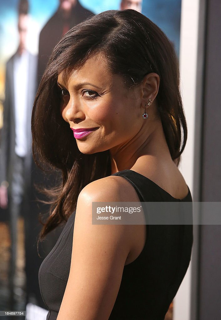 Actress Thandie Newton attends the Los Angeles Premiere of 'Rogue' at ArcLight Cinemas on March 26, 2013 in Hollywood, California.