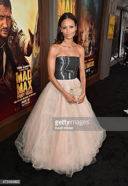 Actress Thandie Newton attends the premiere of Warner Bros Pictures' 'Mad Max Fury Road' at TCL Chinese Theatre on May 7 2015 in Hollywood California