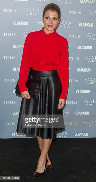 Actress Thaïs Blume attends 'Gala for Tous' collection party photocall at Pons Foundation on January 21 2015 in Madrid Spain