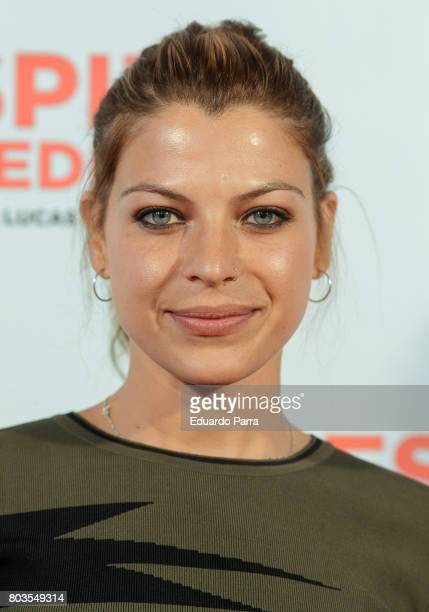 Actress Thaïs Blume attends the 'Despido procedente' photocall at Callao cinema on June 29 2017 in Madrid Spain