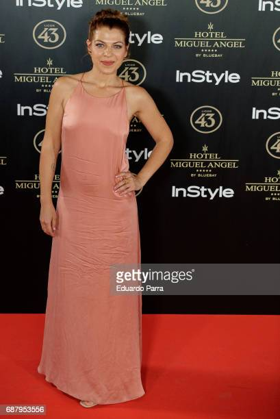 Actress Thaïs Blume attends the 'El Jardin del Miguel Angel' party photocall at Miguel Angel hotel on May 24 2017 in Madrid Spain