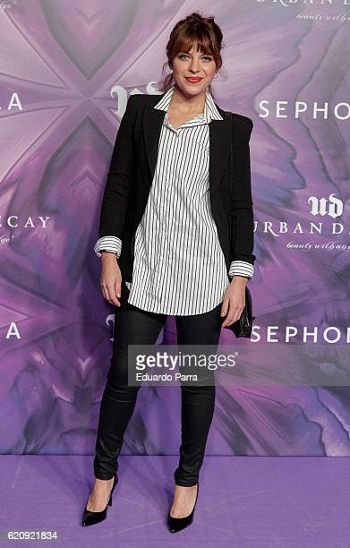 Actress Thaïs Blume attends the Urban Decay 20th anniversary photocall at LAB disco on November 3 2016 in Madrid Spain