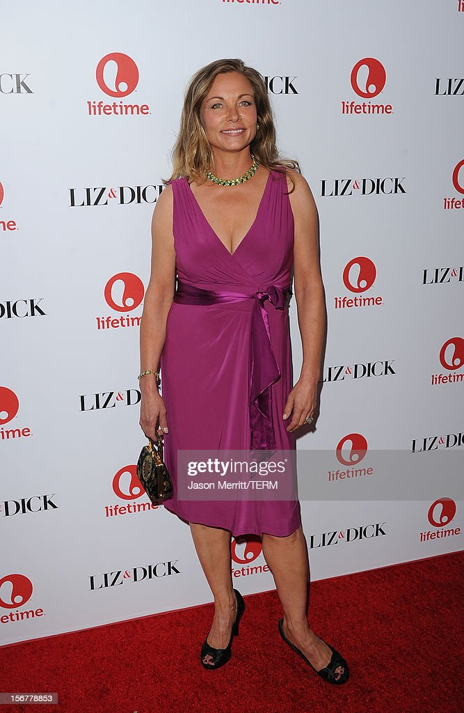 Actress Theresa Russell attends the premiere of Lifetime's 'Liz & Dick' at Beverly Hills Hotel on November 20, 2012 in Beverly Hills, California.