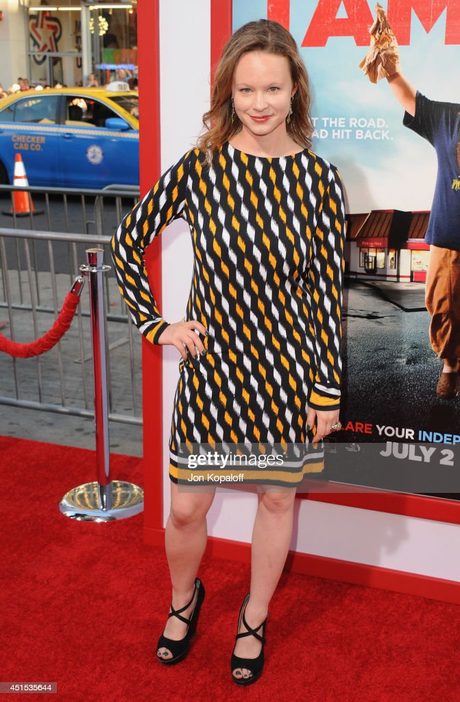 Actress <a gi-track='captionPersonalityLinkClicked' href=/galleries/search?phrase=Thora+Birch&family=editorial&specificpeople=202930 ng-click='$event.stopPropagation()'>Thora Birch</a> arrives at the Los Angeles Premiere 'Tammy' at TCL Chinese Theatre on June 30, 2014 in Hollywood, California.