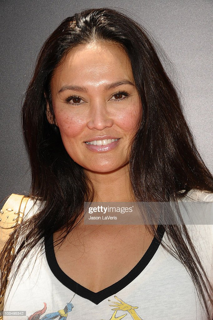 Actress Tia Carrere attends the 'Sk8 For Life' benefit at Fantasy Factory on May 22, 2010 in Los Angeles, California.