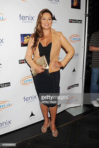 Actress Tia Carrere attends the Stars Get Lucky For Lupus 6th Annual Poker Tournament at Avalon on September 18 2014 in Hollywood California