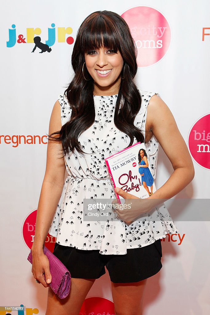 Actress Tia Mowry attends Big City Moms Biggest Baby Shower Ever produced by Big City Moms and Fit Pregnancy on May 9, 2012 in New York City.