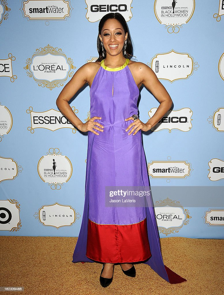 Actress Tia Mowry attends the 6th annual ESSENCE Black Women In Hollywood awards luncheon at Beverly Hills Hotel on February 21, 2013 in Beverly Hills, California.