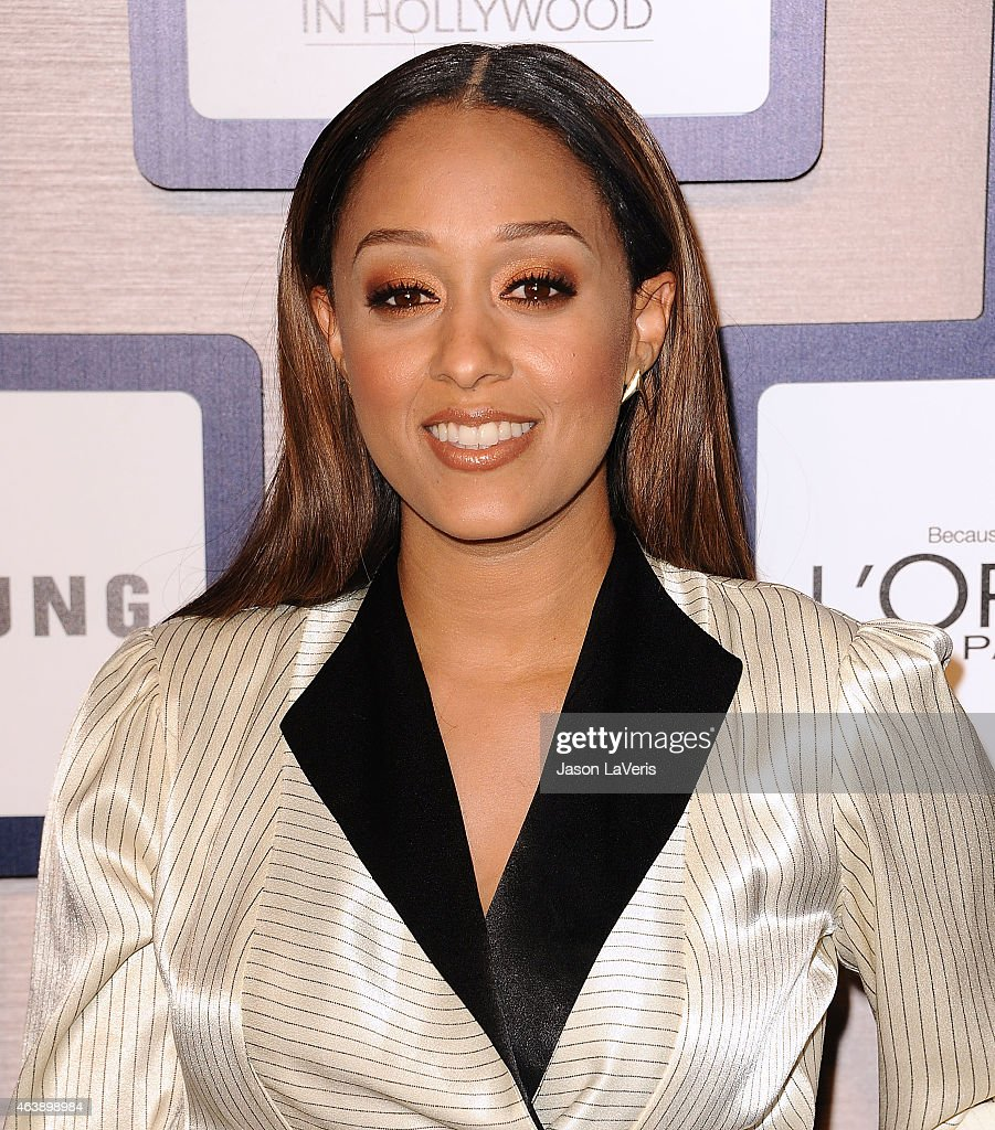 Actress Tia Mowry attends the 8th annual ESSENCE Black Women In Hollywood luncheon at the Beverly Wilshire Four Seasons Hotel on February 19, 2015 in Beverly Hills, California.