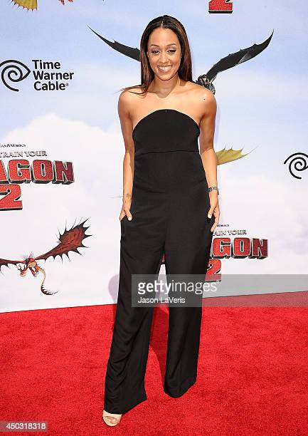 Actress Tia Mowry attends the premiere of 'How To Train Your Dragon 2' at Regency Village Theatre on June 8 2014 in Westwood California