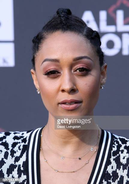 Actress Tia Mowry attends the premiere of Lionsgate's 'All Eyez On Me' on June 14 2017 in Los Angeles California