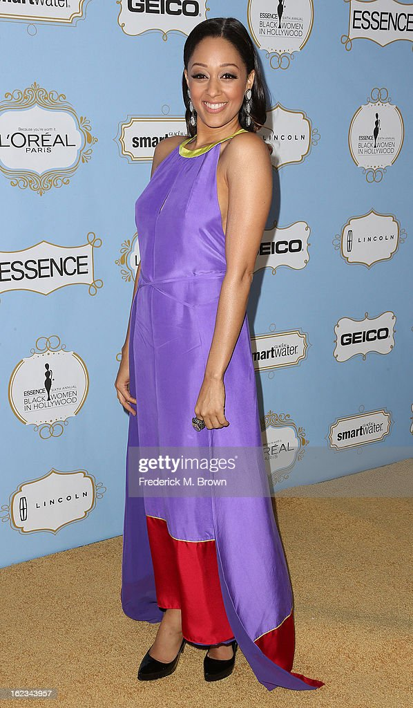 Actress Tia Mowry attends the Sixth Annual ESSENCE Black Women In Hollywood Awards Luncheon at the Beverly Hills Hotel on February 21, 2013 in Beverly Hills, California.
