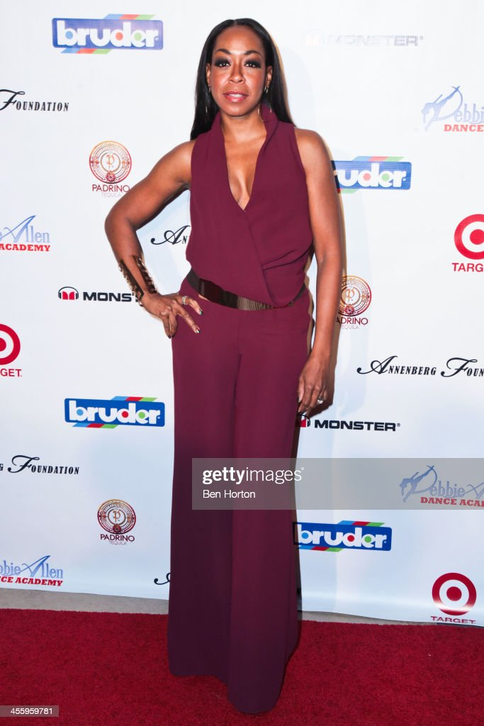 Actress <a gi-track='captionPersonalityLinkClicked' href=/galleries/search?phrase=Tichina+Arnold&family=editorial&specificpeople=593825 ng-click='$event.stopPropagation()'>Tichina Arnold</a> attends the Debbie Allen Dance Academy's 'All-Star Gala' at Royce Hall, UCLA on December 12, 2013 in Westwood, California.