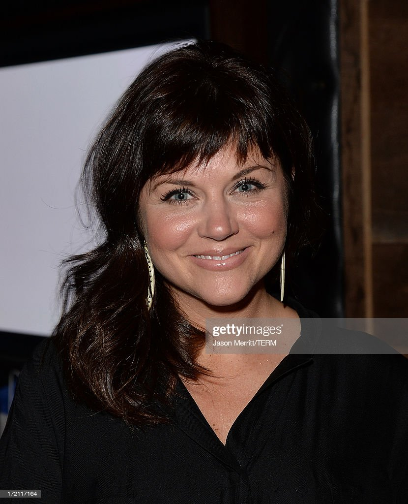 Actress Tiffani Amber Thiessen attends a private event at Hyde Lounge hosted by Dell for the Beyonce concert at The Staples Center on July 1, 2013 in Los Angeles, California.