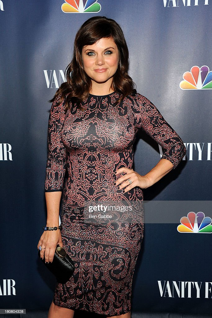 Actress <a gi-track='captionPersonalityLinkClicked' href=/galleries/search?phrase=Tiffani+Thiessen&family=editorial&specificpeople=221649 ng-click='$event.stopPropagation()'>Tiffani Thiessen</a> attends NBC's 2013 Fall Launch Party Hosted By Vanity Fair at The Standard Hotel on September 16, 2013 in New York City.