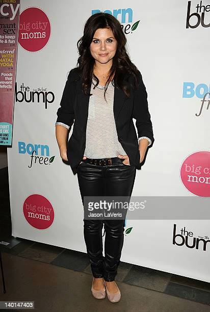 Actress Tiffani Thiessen attends the 11th annual Biggest Baby Shower at Skirball Cultural Center on February 28 2012 in Los Angeles California
