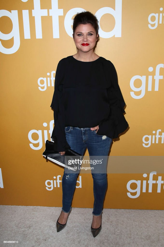 Actress Tiffani Thiessen attends the premiere of Fox Searchlight Pictures' 'Gifted' at Pacific Theaters at The Grove on April 4, 2017 in Los Angeles, California.