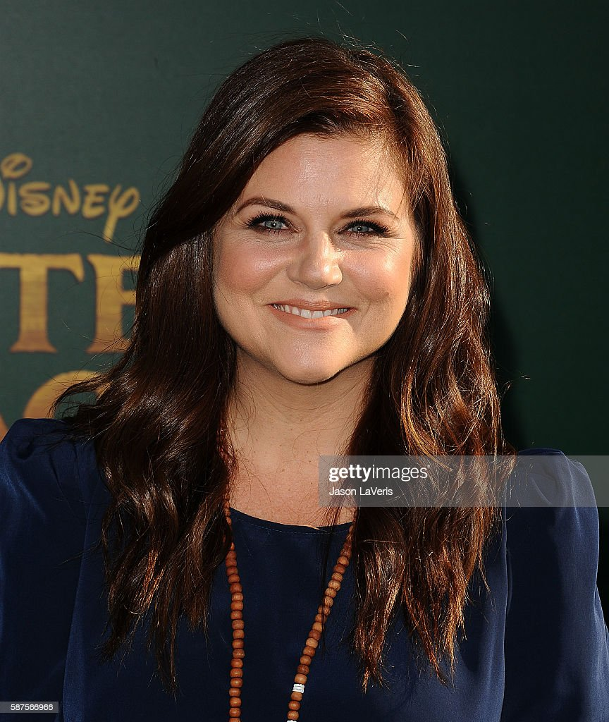 Actress Tiffani Thiessen attends the premiere of 'Pete's Dragon' at the El Capitan Theatre on August 8 2016 in Hollywood California