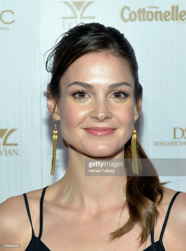Actress Tiffany Brouwer attends OK! Magazine's Pre-Oscar Party at Greystone Manor Supperclub on February 27, 2014 in West Hollywood, California.