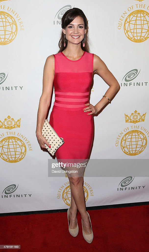 Actress Tiffany Brouwer attends the Queen of the Universe International Beauty Pageant at the Saban Theatre on March 16, 2014 in Beverly Hills, California.