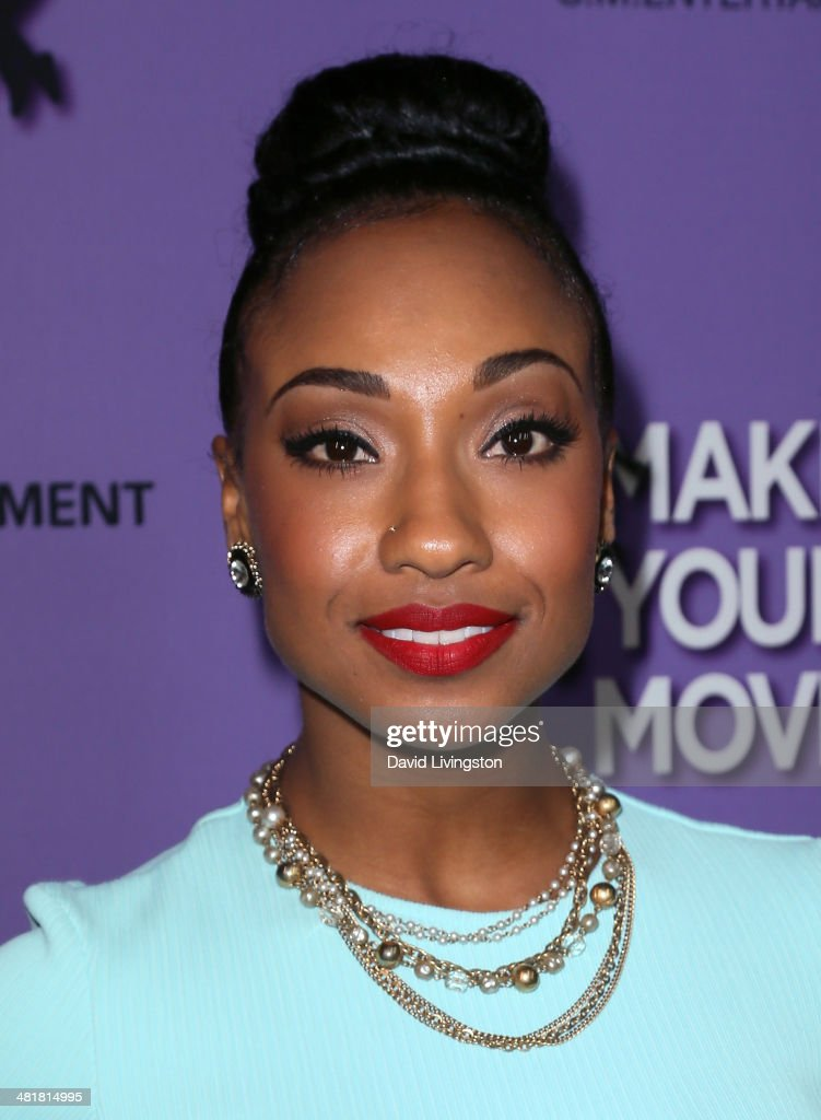 Actress Tiffany Daniels attends a screening of 'Make Your Move' at Pacific Theatre at The Grove on March 31, 2014 in Los Angeles, California.