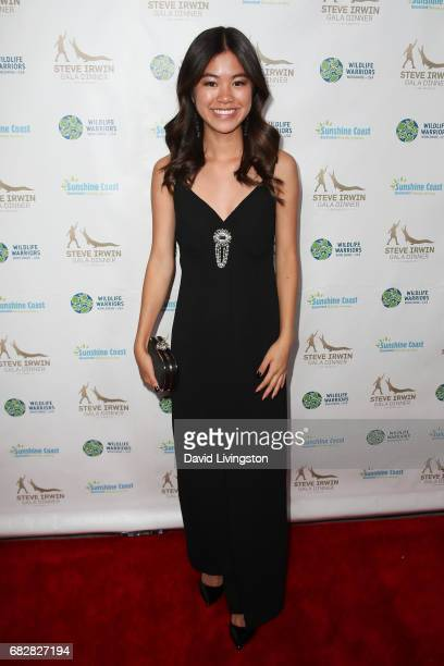 Actress Tiffany Espensen attends the Steve Irwin Gala Dinner at the SLS Hotel at Beverly Hills on May 13 2017 in Los Angeles California