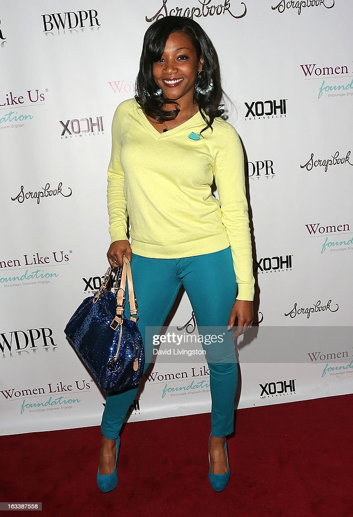 Actress Tiffany Haddish attends a Pre-LAFW benefit in support of the Women Like Us Foundation at Lexington Social House on March 8, 2013 in Hollywood, California.