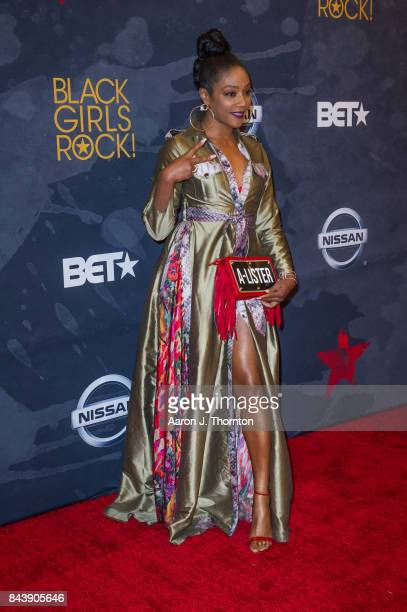 Actress Tiffany Haddish attends Black Girls Rock at New Jersey Performing Arts Center on August 5 2017 in Newark New Jersey