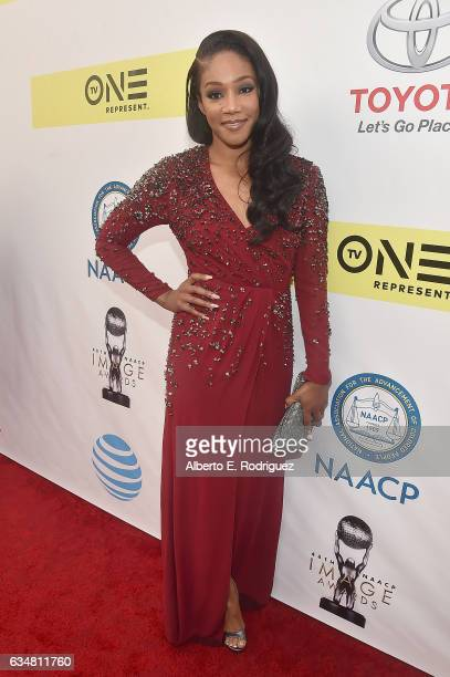 Actress Tiffany Haddish attends the 48th NAACP Image Awards at Pasadena Civic Auditorium on February 11 2017 in Pasadena California