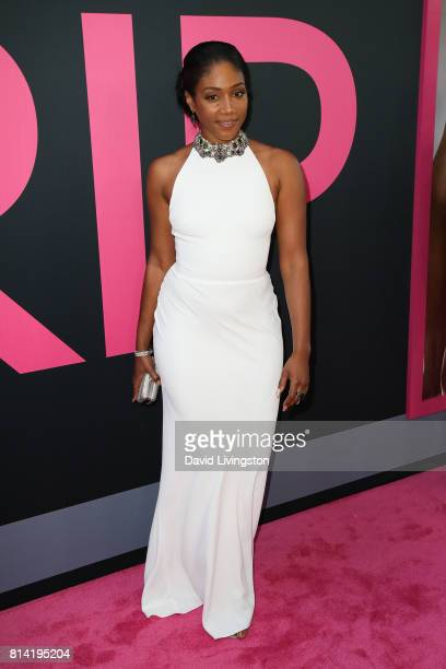 Actress Tiffany Haddish attends the premiere of Universal Pictures' 'Girls Trip' at Regal LA Live Stadium 14 on July 13 2017 in Los Angeles California