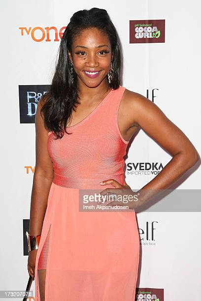 Actress Tiffany Haddish attends the series premiere of TV One's 'RB Divas LA' at The London Hotel on July 9 2013 in West Hollywood California