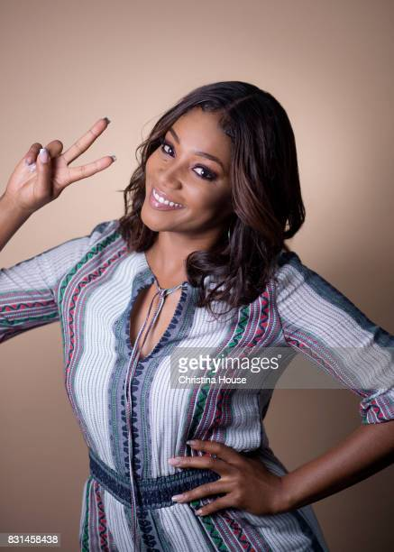 Actress Tiffany Haddish is photographed for Los Angeles Times on June 25 2017 in Los Angeles California PUBLISHED IMAGE