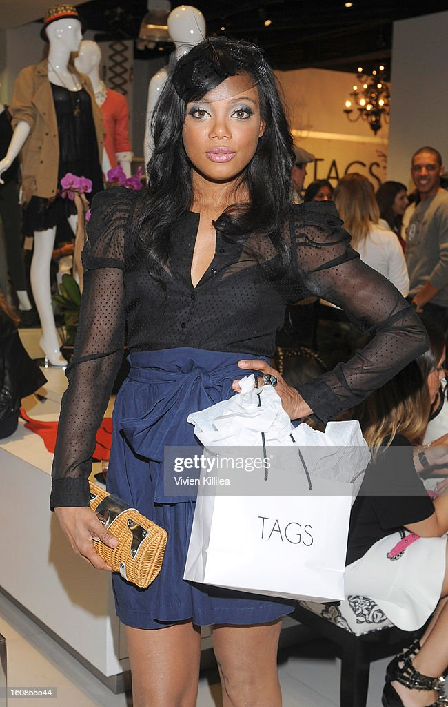 Actress Tiffany Hines attends TAGS Grand Opening Party on February 6, 2013 in West Hollywood, California.
