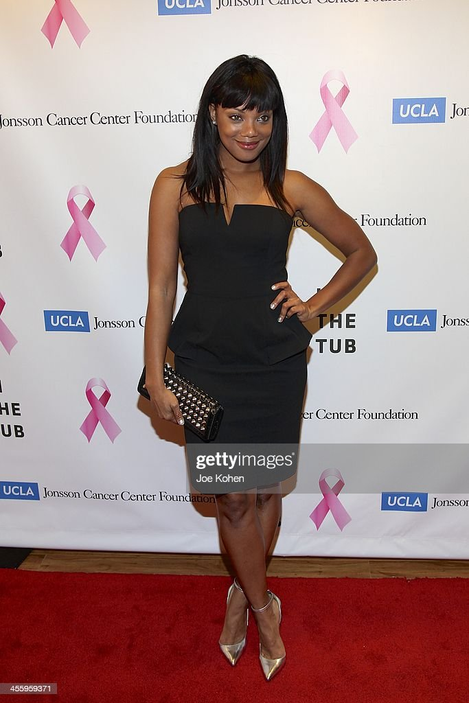 Actress Tiffany Hines attends TJ Scott's 'In The Tub' book launch party at Light in Art on December 12, 2013 in Los Angeles, California.