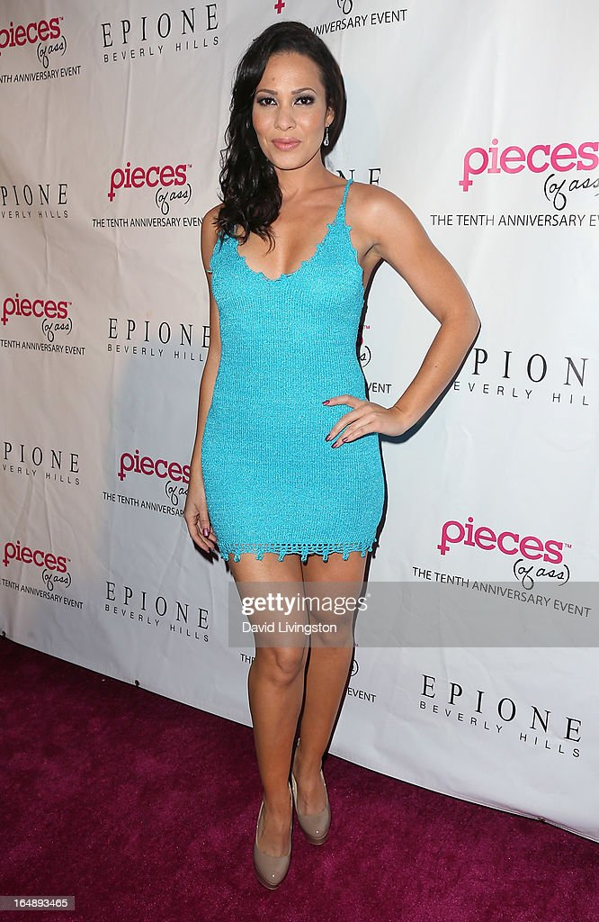 Actress Tiffany Phillips attends the 'Pieces (of Ass)' opening night Los Angeles performance at The Fonda Theatre on March 28, 2013 in Los Angeles, California.