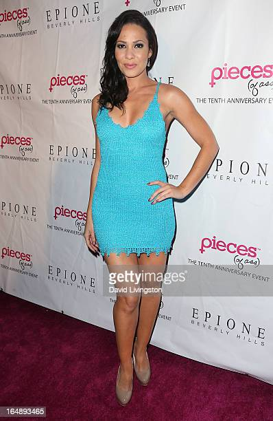 Actress Tiffany Phillips attends the 'Pieces ' opening night Los Angeles performance at The Fonda Theatre on March 28 2013 in Los Angeles California