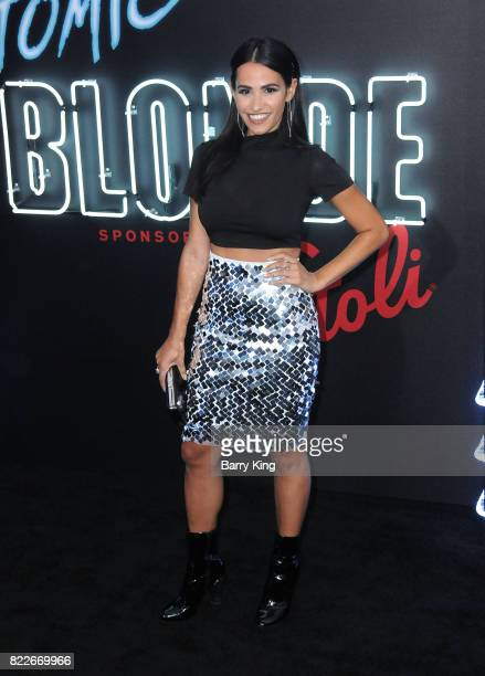 Actress Tiffany Smith attends the premiere of Focus Features' 'Atomic Blonde' at The Theatre at Ace Hotel on July 24 2017 in Los Angeles California