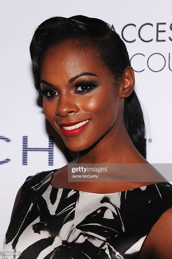 Actress Tika Sumpter attends the 16th Annual ACE Awards presented by the Accessories Council at Cipriani 42nd Street on November 5, 2012 in New York City.