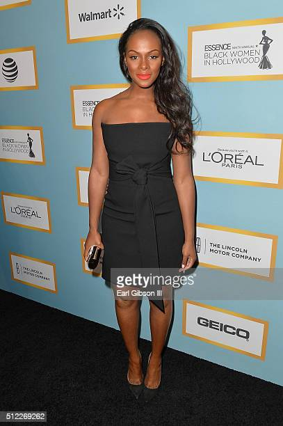 Actress Tika Sumpter attends the 2016 ESSENCE Black Women In Hollywood awards luncheon at the Beverly Wilshire Four Seasons Hotel on February 25 2016...