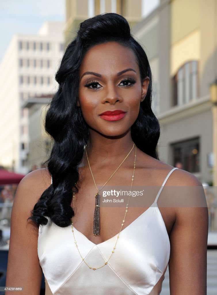 Actress Tika Sumpter attends the 45th NAACP Image Awards presented by TV One at Pasadena Civic Auditorium on February 22, 2014 in Pasadena, California.