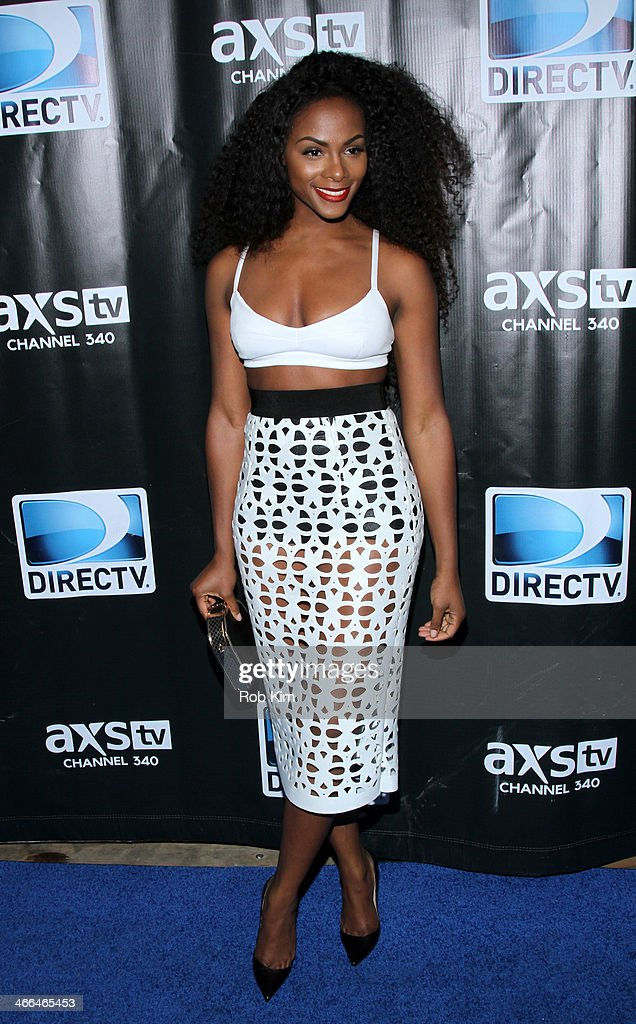 Actress <a gi-track='captionPersonalityLinkClicked' href=/galleries/search?phrase=Tika+Sumpter&family=editorial&specificpeople=4168370 ng-click='$event.stopPropagation()'>Tika Sumpter</a> attends the DirecTV Super Saturday Night at Pier 40 on February 1, 2014 in New York City.
